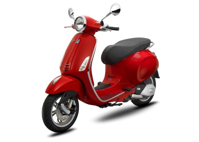 Vespa Primavera 150 Dragon Red