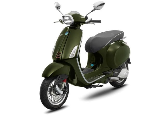 Vespa Sprint 150 ABS Mosse Green