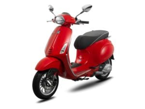 Vespa Sprint 150 ABS Dragon Red
