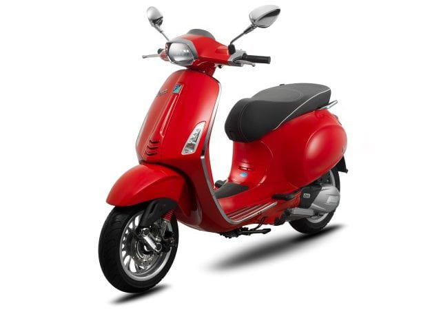 Vespa Sprint 150 ABS Dragon Red