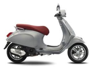 Vespa Primavera 150 Silk Grey