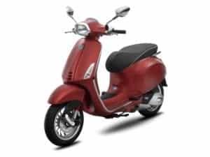 Vespa Sprint 150 ABS Matte Red