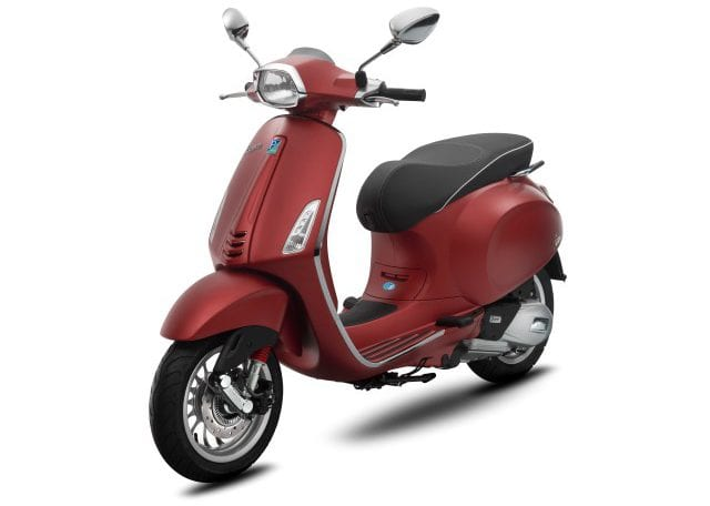 Vespa Sprint 150 ABS Matte Red